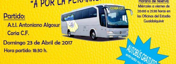 ¡Autobús gratis para viajar a Lebrija!