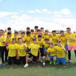 El Coria C.F. 4ª Andaluza Cadete recibe la copa de campeón de liga