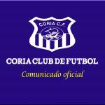 Guadalcacín – Coria CF: resolución del expediente
