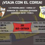 ¡Viaja con el Coria a Pozoblanco!