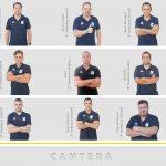 Organigrama técnicos de la cantera 2020-21
